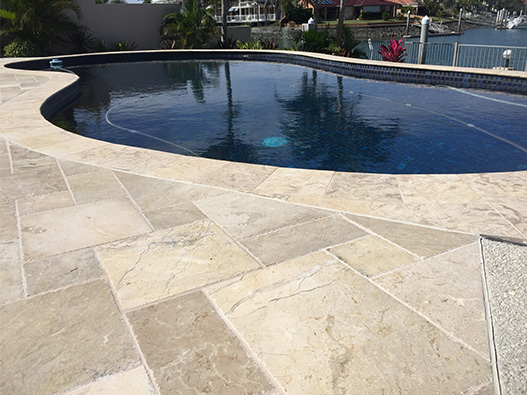 Pool Tiling and Coping